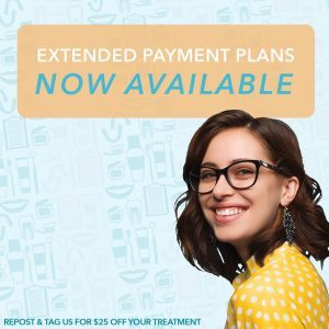 Extended Payment plans available for Impressions invisible aligners