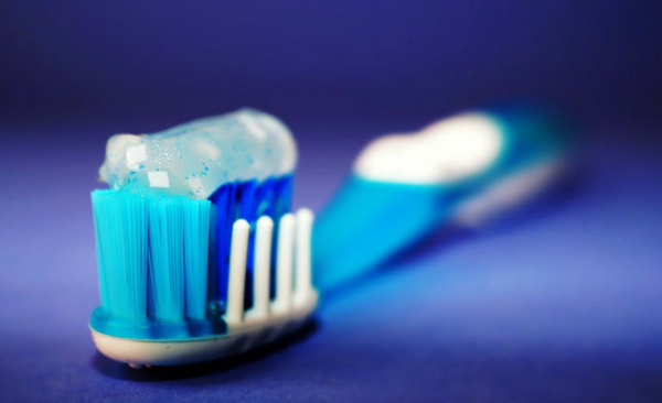 Toothbrush used to maintain good oral health in patient