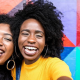 Two women share what their smiles mean to them in Asheville