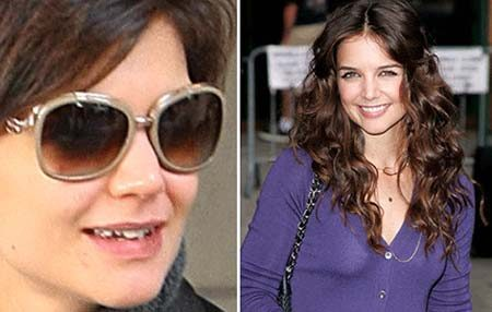 Picture of Katie Holmes smiling