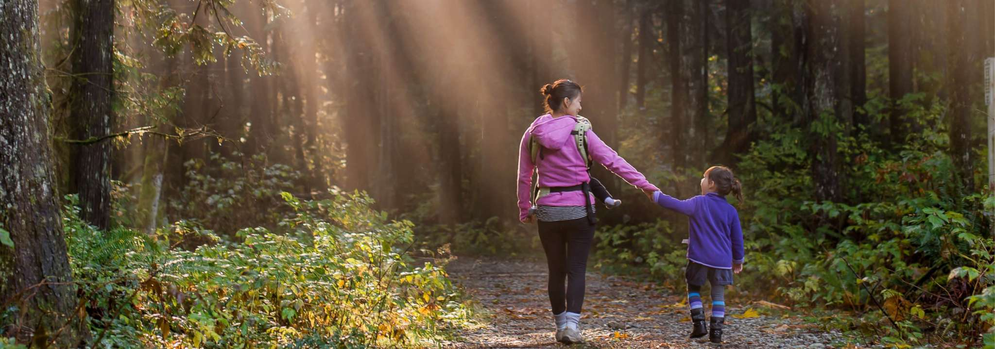 Getting outside for a walk while socially distancing is so important!