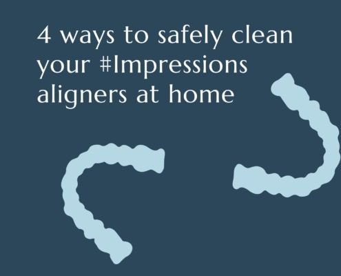 4 ways to clean your clear aligners at home