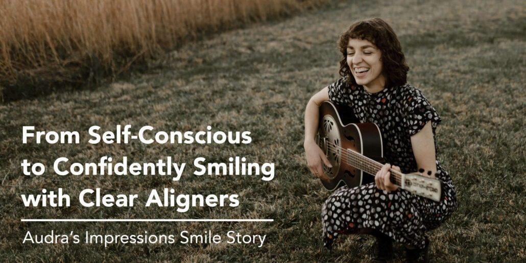 From Self-Conscious to Confidently Smiling with Clear Aligners