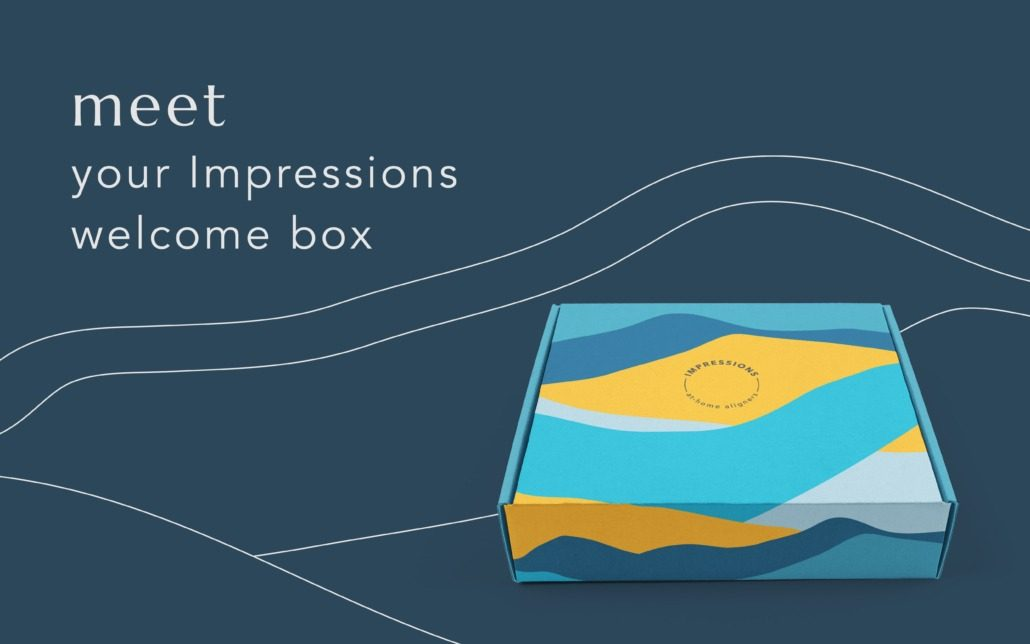 meet your impressions welcome box