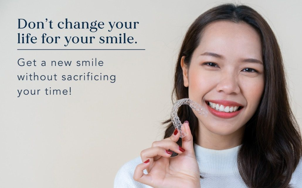 Get a straighter smile without going to the doctor