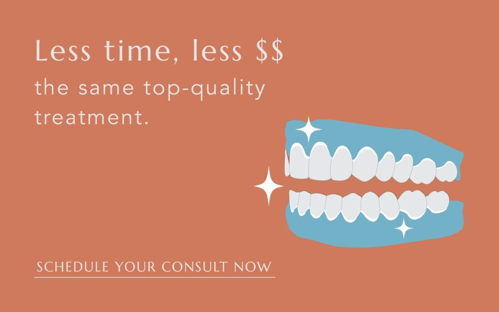 Less time, less $$ the same great quality treatment